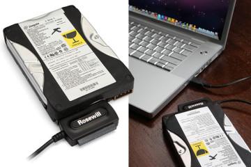 Connettore USB per dischi SATA/IDE