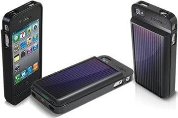 Case solare per iPhone 4