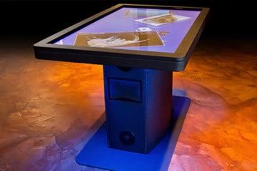 Ideum MT55 HD, il tavolo multitouch