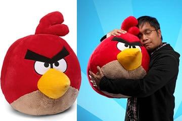Jumbo Peluche di Angry Birds