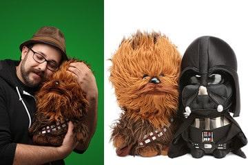 I peluche di Star Wars