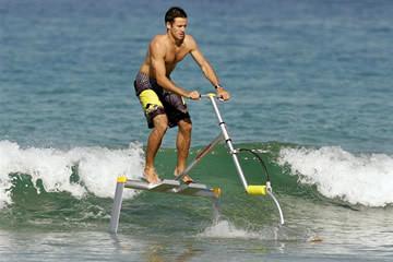 Aquaskipper: il gioco acquatico a propulsione umana