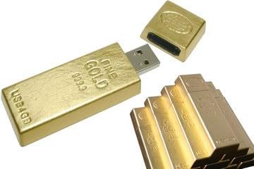 Chiavetta USB d'oro