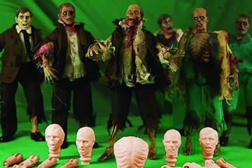 Assembla il tuo zombie