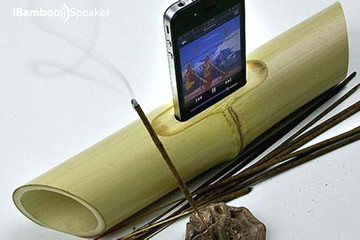 iBamboo, lo speaker eco-friendly per iPhone