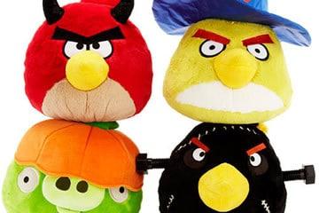 I Peluche di Angry Birds versione Halloween