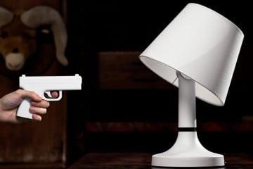 Bang! La lampada bersaglio