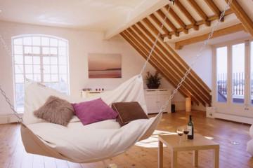 Beanock: il letto amaca da interni