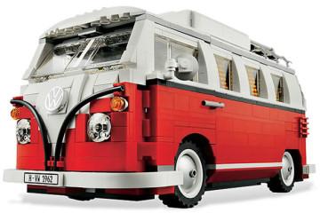 Volkswagen T1 Camper Van in versione LEGO