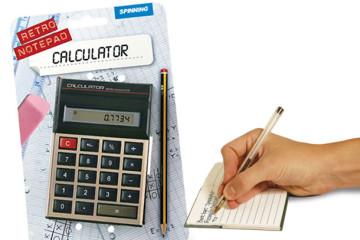 Calcolatrice retrò o blocco per appunti?
