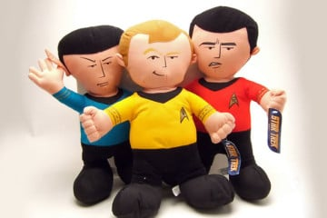 Peluche di Star Trek
