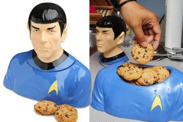 La biscottiera di Spock