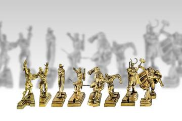 I fermacarte d'oro degli Avengers