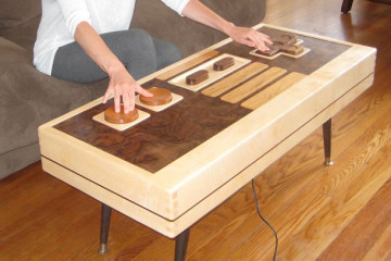 Tavolino controller NES – realmente funzionante!