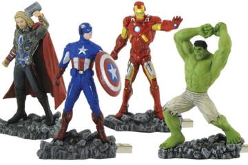 Le chiavette USB degli Avengers – prima serie