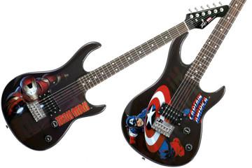 Le chitarre elettriche della Marvel