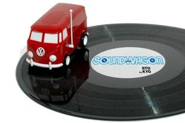 SoundWagon, il giradischi portatile più piccolo del mondo