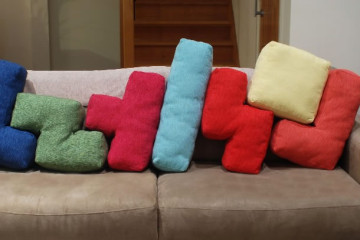 I cuscini di Tetris