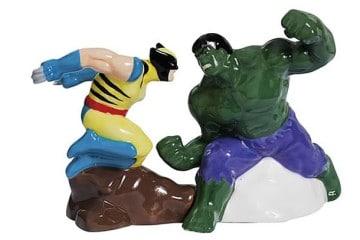 "Sale e Pepe ""Wolverine vs. Hulk"""