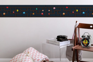 Pac-Man Border Wall Decals