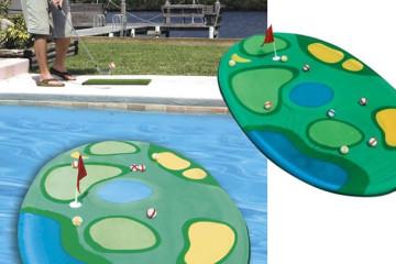 Mini campo da Golf galleggiante