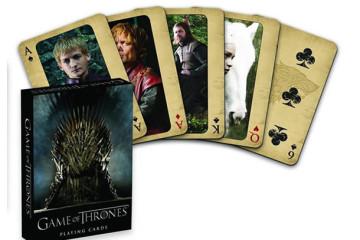 Le carte da gioco di Game of Thrones