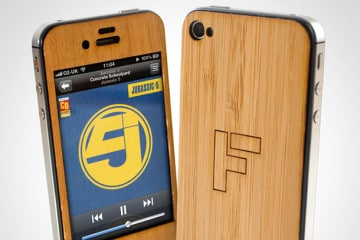 Lumberjacket, la skin in legno per iPhone 4 e 4S