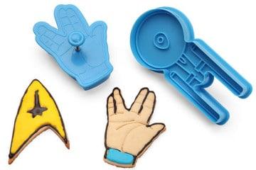 Gli stampi per biscotti di Star Trek