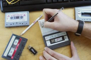 L'audiocassetta USB