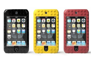 TinkerBrick, il LEGO case per iPod Touch
