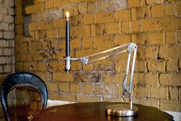 La lampada a candela