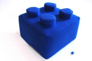 Il cuscino a forma di LEGO