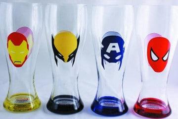 Le pinte supereroiche Marvel