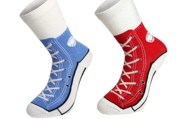 2converse calze