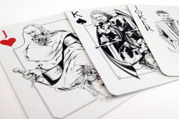 Il mazzo di carte di Game of Thrones