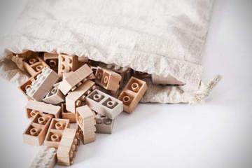 Set di mattoncini LEGO di legno
