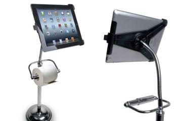 Stand per iPad portarotolo