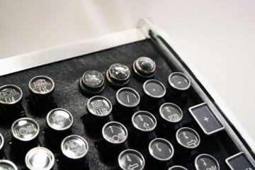 La tastiera per PC Steampunk
