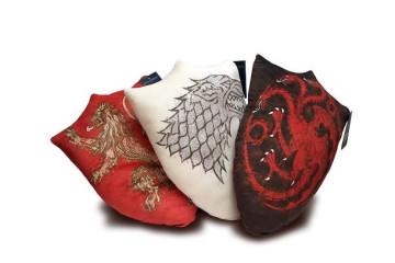 Gli scudi-cuscino di Game of Thrones