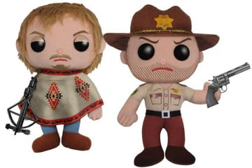 La nuova serie di peluche di The Walking Dead