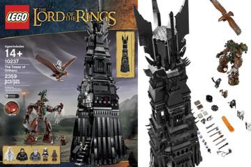 La torre LEGO di Saruman