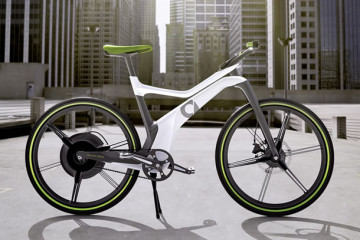 La bicicletta elettrica di Smart