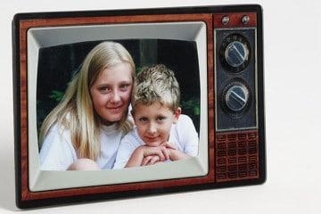 Portafoto o vecchio televisore?