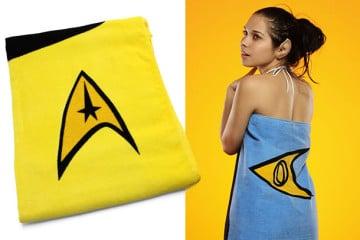 I teli da mare di Star Trek