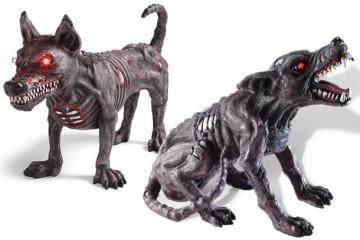 I cani zombie da giardino
