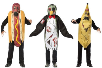 I costumi alternativi da zombie
