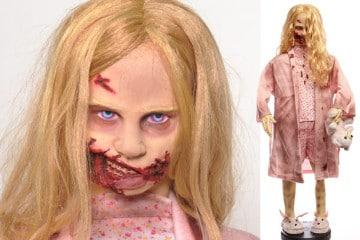 """La """"Teddy Bear Girl"""" di The Walking Dead"""
