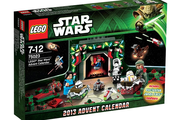 Calendario dell'avvento LEGO Star Wars 2013