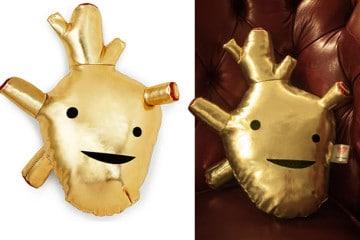 Il cuore d'oro di peluche
