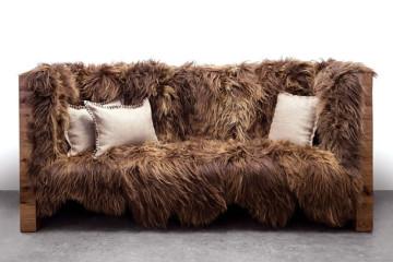 Il divano in stile Chewbecca